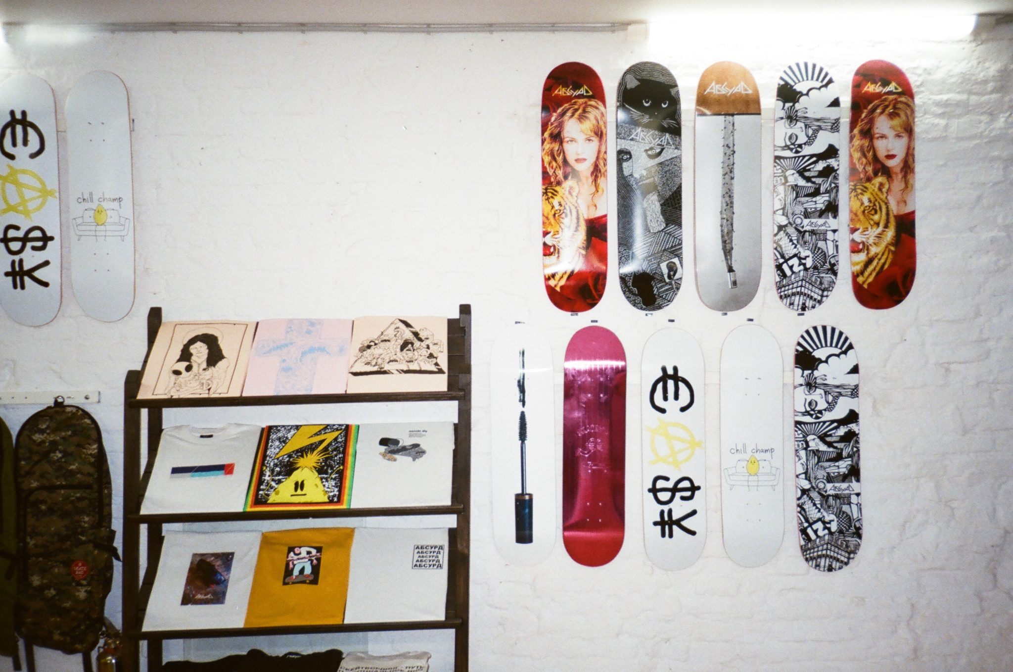 Hang A Skateboard Deck On The Wall