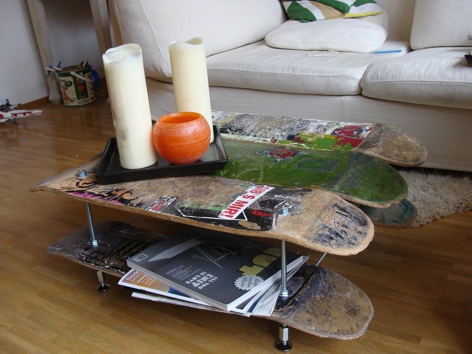 Skateboard DIY Ideas