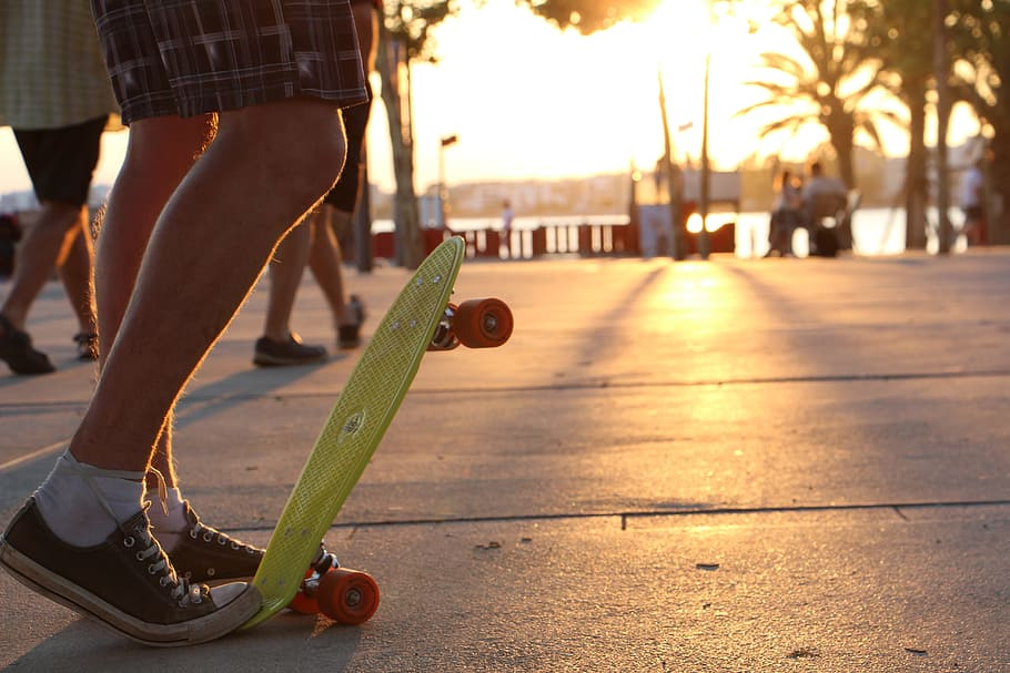 How to Stop on a Penny Board